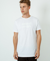 A Question Of Seoul Man Crew Neck T-Shirt White
