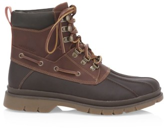 Sperry Topsider Watertown Leather Combat Boots