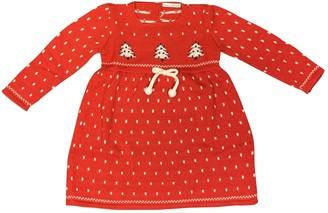 Dolce & Gabbana Red Wool Dresses