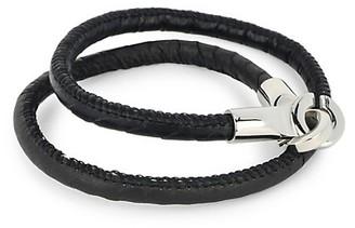 Jean Claude Multi-Wrap Leather Bracelet