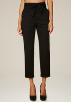 Bebe High Waist Crop Pants