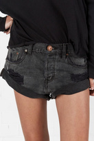 One Teaspoon Denim Bandit Shorts