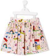 Dolce & Gabbana drawing print skirt