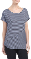 Side Knot Seamed Tee