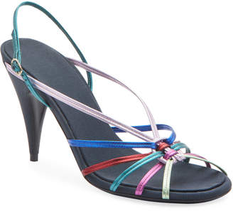 The Row Odeon Rainbow Metallic Pumps