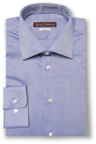 Hickey Freeman Royal Oxford Classic Fit Cotton Dress Shirt