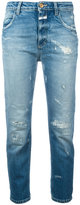 Closed Heartbreaker cropped jeans - women - Cotton/Spandex/Elastane - 27