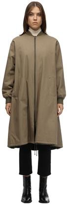 Liska Reversible Cotton Bomber Coat