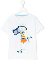 Little Marc Jacobs roller disco T-shirt - kids - Cotton - 4 yrs