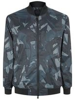 Z Zegna Camouflage Bomber Jacket