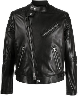 Tom Ford Zipped-Pocket Biker Jacket