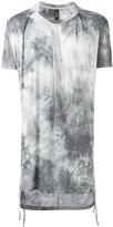 Tom Rebl gradient printed long T-shirt - men - Spandex/Elastane/Viscose - S