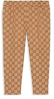 Gucci Little Boy's & Boy's GG Canvas Pants