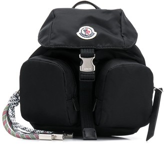 Moncler One-Shoulder Multi-Pocket Backpack