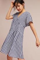 Tylho Gingham V-Neck Swing Dress
