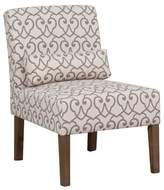 BEIGE Callie Side Chair Alcott Hill Upholstery Color