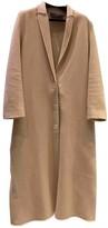 Lanvin Beige Wool Coats