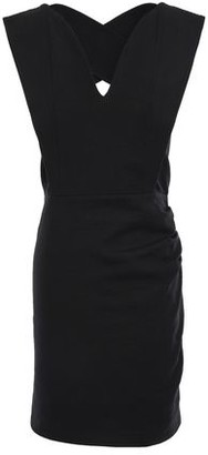 BA&SH Tyke Cutout Stretch-cotton Mini Dress