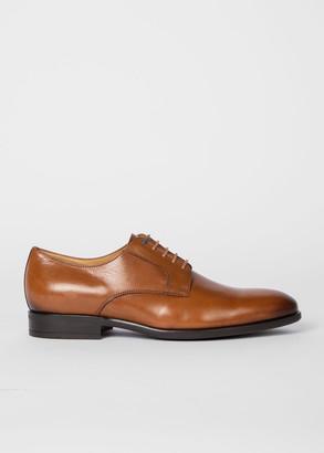 Men's Tan Leather 'Daniel' Derby Shoes