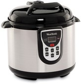 West Bend Programmable 6-Quart Stainless Steel Pressure Cooker