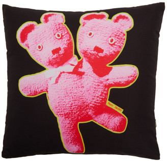 Marc Jacobs Black Heaven by Double Headed Teddy Pillow
