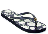 Tory Burch Thin Flip Flop - Patterned Thong Sandal