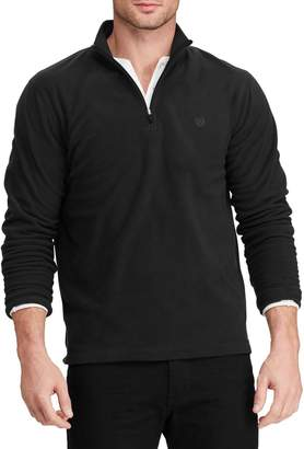 Chaps Big Tall Classic-Fit Fleece Half-Zip Pullover