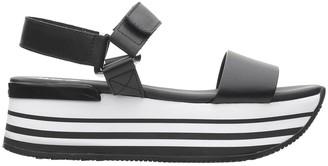 Hogan Black Sandals
