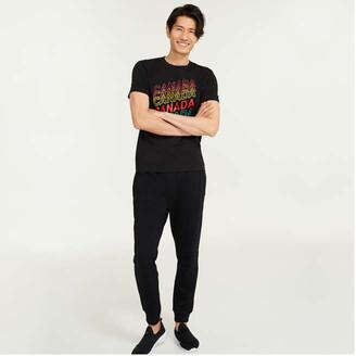 Joe Fresh Men's Canada Graphic Tee, Black (Size XL)