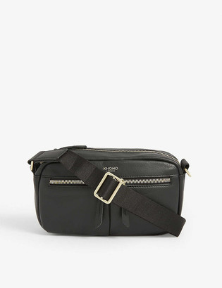 Knomo Brook mini leather cross-body bag