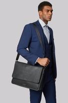 Ted Baker Black Embossed Messenger Bag
