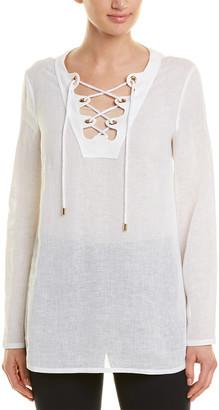 Michael Kors Collection Linen Tunic