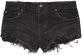 Albuquerque Low-rise denim shorts