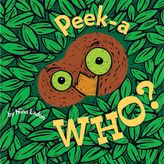 Bed Bath & Beyond Peek-A Who? Board Book by Nina Laden