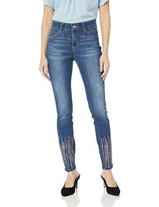 Jag Jeans Women's Cecilia Skinny Jean with Sequins