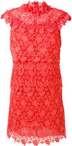 Giamba layered lace dress - women - Cotton/Polyester/Viscose - 40
