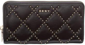 DKNY Sofia Leather Zip Around Wallet
