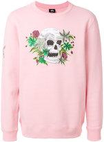 Stussy Hippie Skull sweatshirt