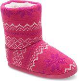 Stride Rite Fair Isle Knit Slipper Boot