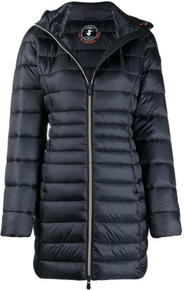 Save The Duck Zip-Front Puffer Jacket