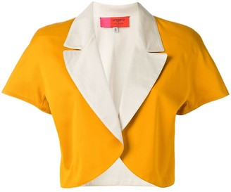 Emanuel Ungaro Pre Owned Colour Block Bolero Jacket
