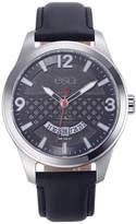 ESQ Mens Black Strap Watch-37esq008001a