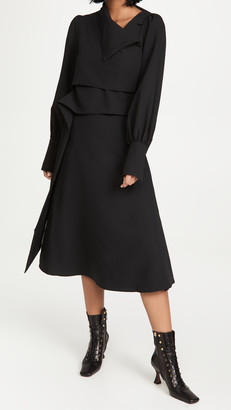 Beaufille Trio Wrap Dress