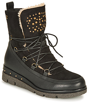 Refresh 69197-BLACK women's Snow boots in Black