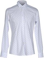 Grey Daniele Alessandrini Shirts - Item 38668584