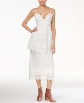 Endless Rose Cotton Tiered Lace Dress