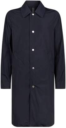 Privee Salle Button-Up Raincoat