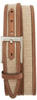 Nordstrom Men's Webster Leather & Linen Belt