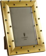 L'OBJET Vermeil & Malachite Stones Frame - Gold - 4x6