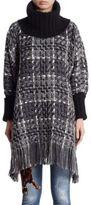 Dolce & Gabbana Oversized Turtleneck Sweater